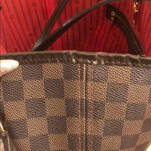 "Louis Vuitton Bags - Louis Vuitton ""neverfull Damier Ebene"" size mm."